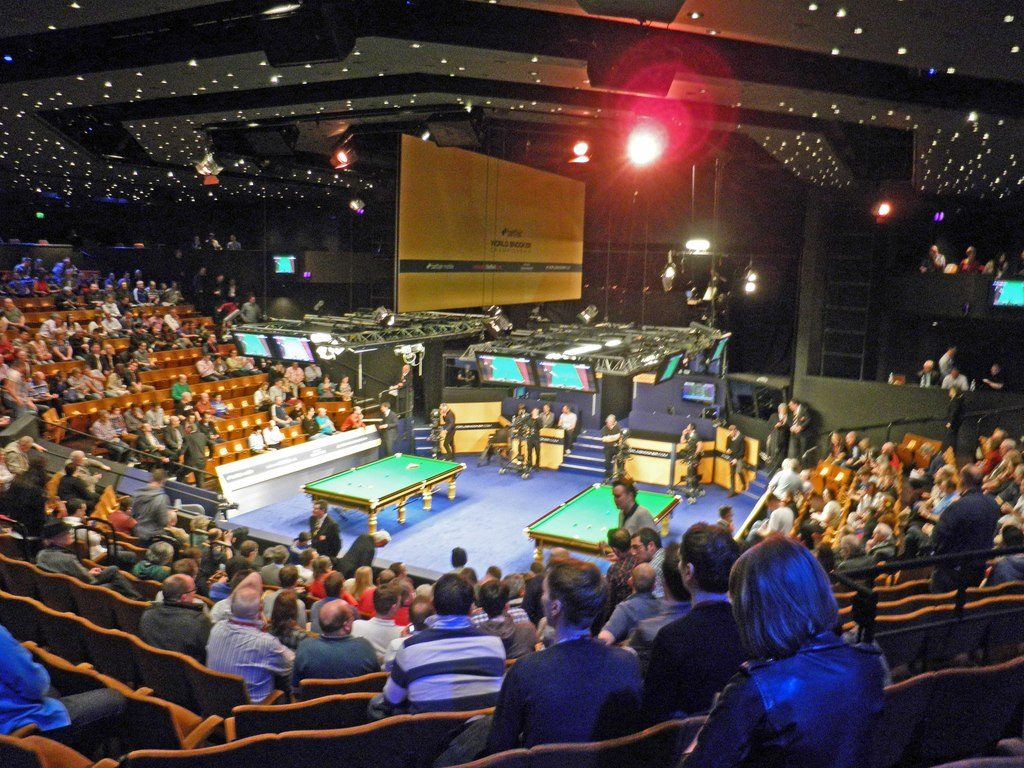 From the World Snooker Championship 2013