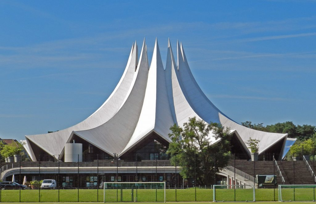 The Tempodrom venue in Berlin